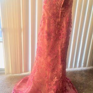 Cache Mermaid sequenced dress